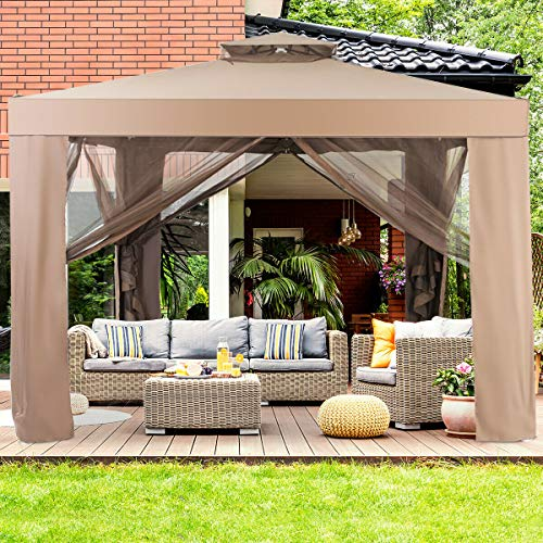 Thing need consider when find gazebos for patios metal roof?