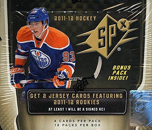 (2011-12 Upper Deck SPx Hockey Hobby Box)