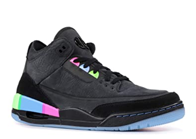 hot sale online b3475 8ae41 Air Jordan 3 Retro Se Q54 'Quai 54' - At9195-001 - Size 7.5