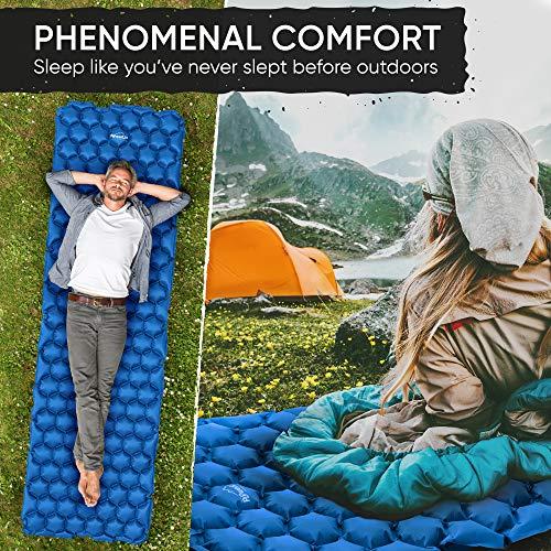 Ultralight inflatable sleeping mat