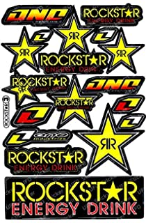 Rockstar Energy Drink Motorcross Race Logo Racing F1 Sticker Decal