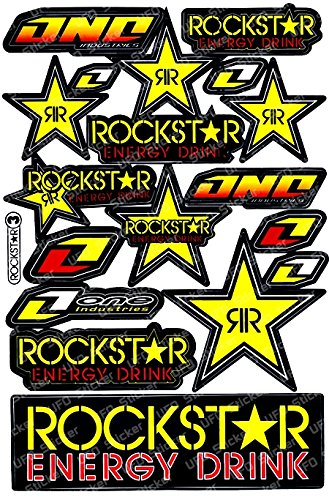 amazon com rockstar energy drink motorcross race logo racing f1
