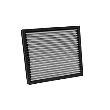 K&N VF2043 Washable & Reusable Cabin Air Filter Cleans and Freshens Incoming Air for your Cadillac