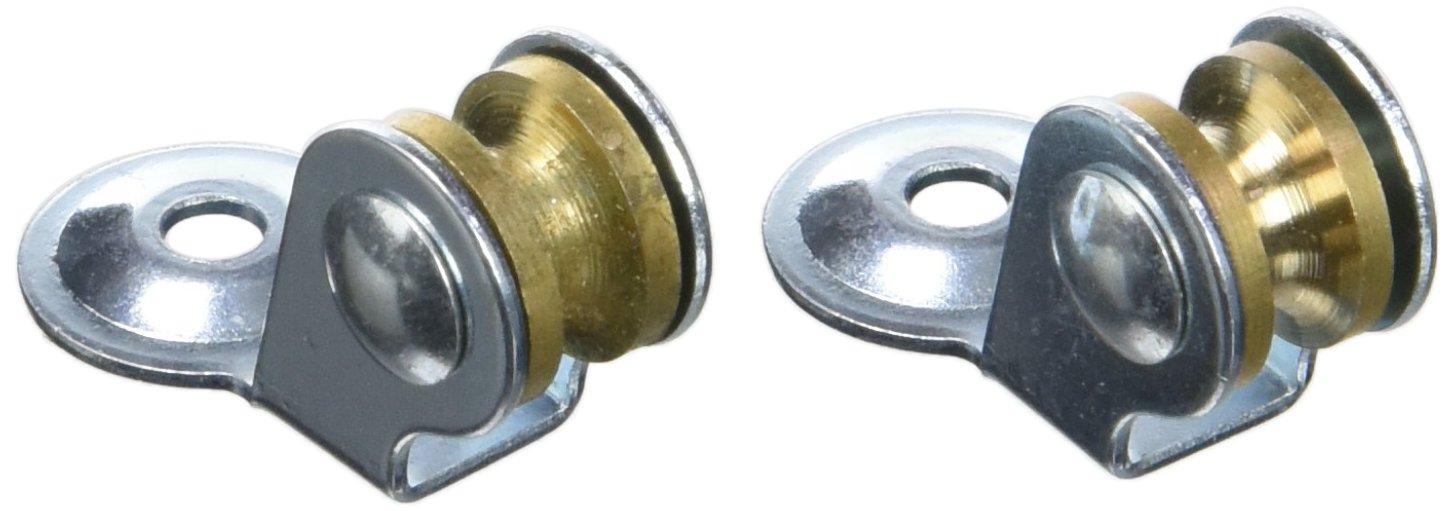 Chapuis vpsl1 2 poleas secadora –  Material: acero galvanizado –  Diá metro: 12 mm –  para cuerda de: 3 mm –  Color: metal, gris, Set de 2 piezas S