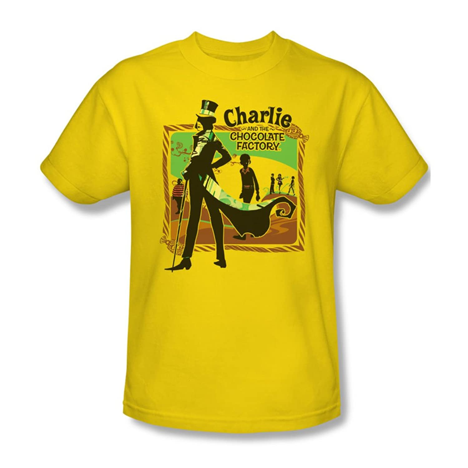 Chocolate Factory - Mens Chocolate River T-Shirt In Yellow