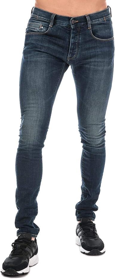 Armani Jeans J35 Pantalones Vaqueros Ajustados Para Hombre Azul Azul 40 Es L Amazon Es Ropa Y Accesorios