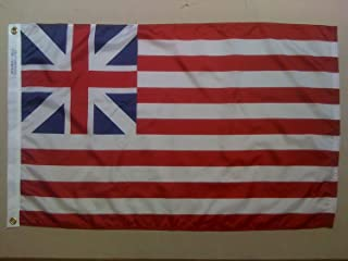 product image for Annin Flagmakers 317592 Grand Union 2x3 ft. Nylon Dyed Design Flag, 100% Made in USA