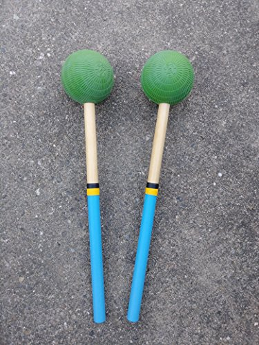 Tips Double Drum Bass (Steel Drum Pan Mallets - 6Bass)