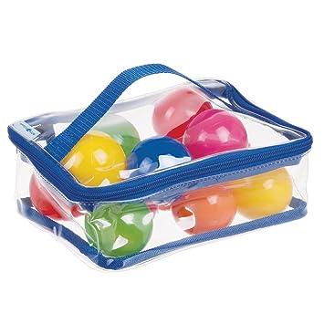 mDesign Bolsa para juguetes - Bolsa impermeable para guardar ...