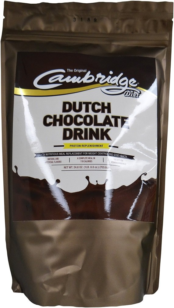 Dutch Chocolate Original 330 Cambridge Diet Plan Weight Loss Shake