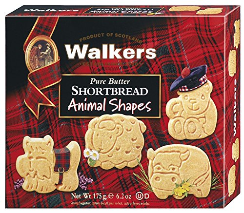 (Walkers Shortbread Animal Shapes, 6.2 Ounce Box)