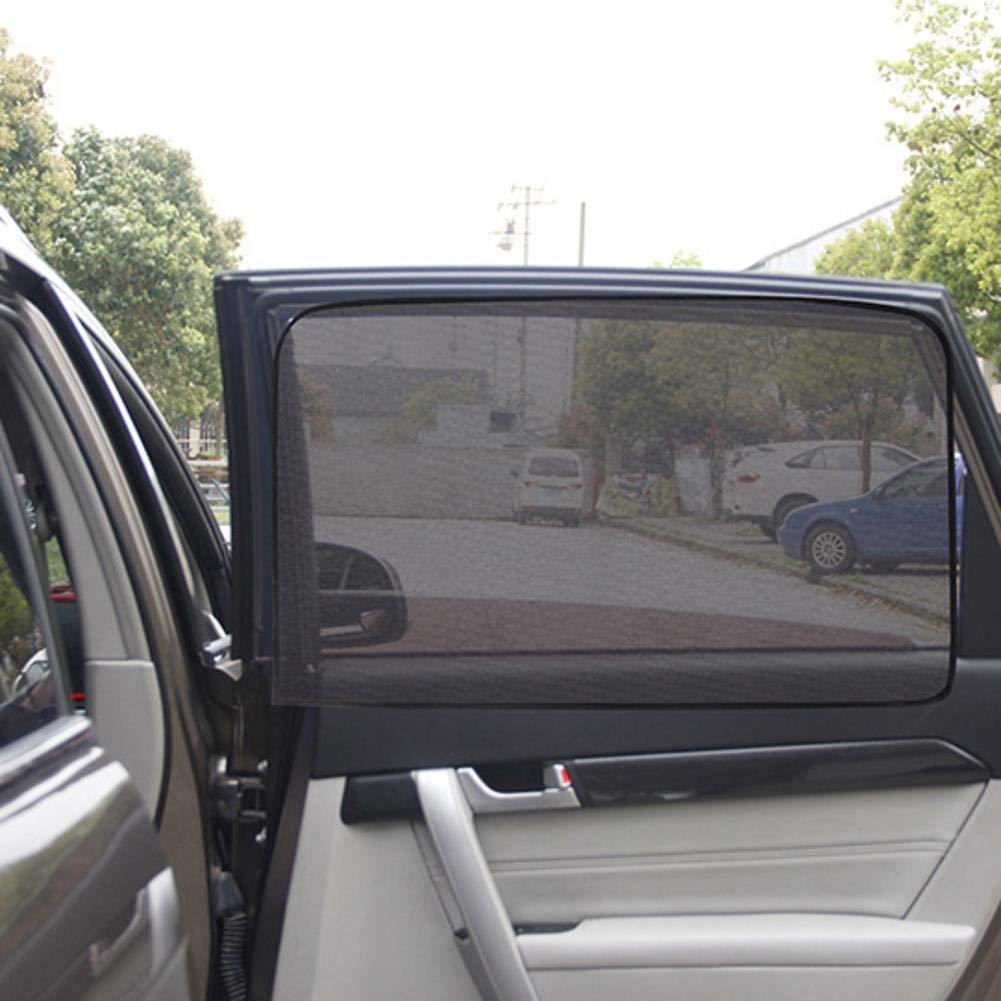 JOAN DOMINGUEZ Magnetic Car Sun Shade UV Protection Car Curtain Car Window Sunshade Side Window Mesh Sun Visor Summer Protection Window Film Front row