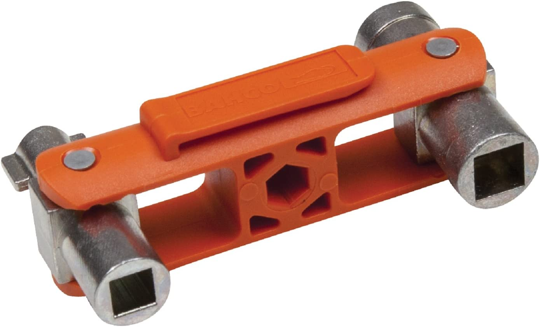 AMF 0007658240600 Llave de gancho articulada 60-90 mm