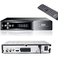 Teknikal HD Freeview Set Top Box Receiver Plus Recorder for Digital TV Channels Tuner HDMI / Scart Outputs USB Memory Slot DVB-T Digi Box 4 Switchover