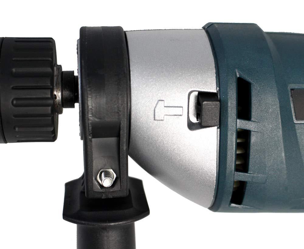 Vetrineinrete/® Trapano elettrico a percussione con mandrino autoserrante 13 mm Doppia velocit/à 750 watt Portatile 240 volt Legno metallo acciaio cemento A21