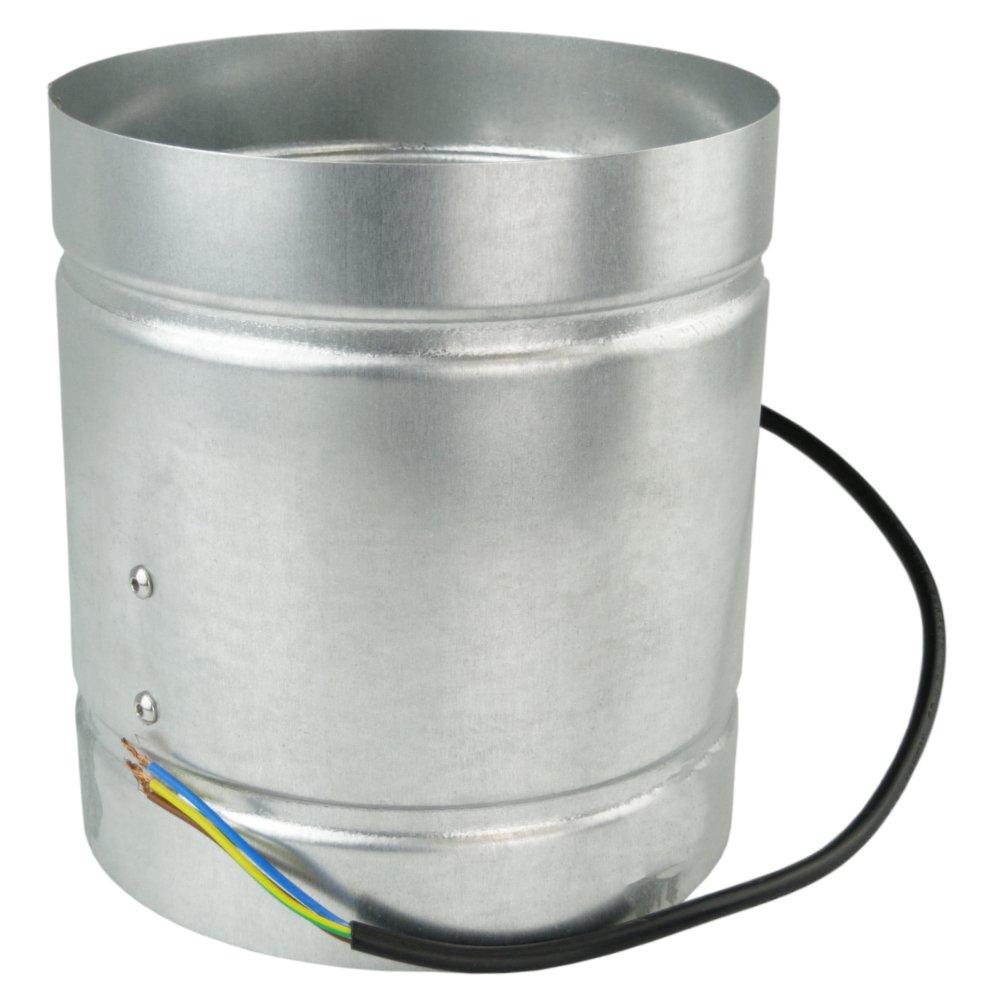 Conducto Inline 160mm fan de zinc de metal chapado en ARW la canalización extractor industrial: Amazon.es: Hogar
