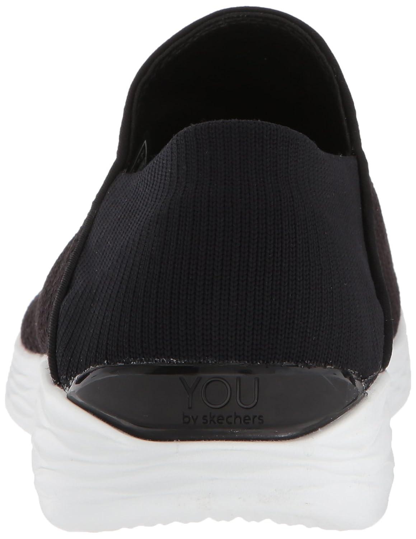 Skechers Women's You Walking B(M) Shoe B01MQCNCWD 11 B(M) Walking US|Black/White 47373b