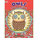 Dover Creative Haven Owls Publications Coloring Book offers