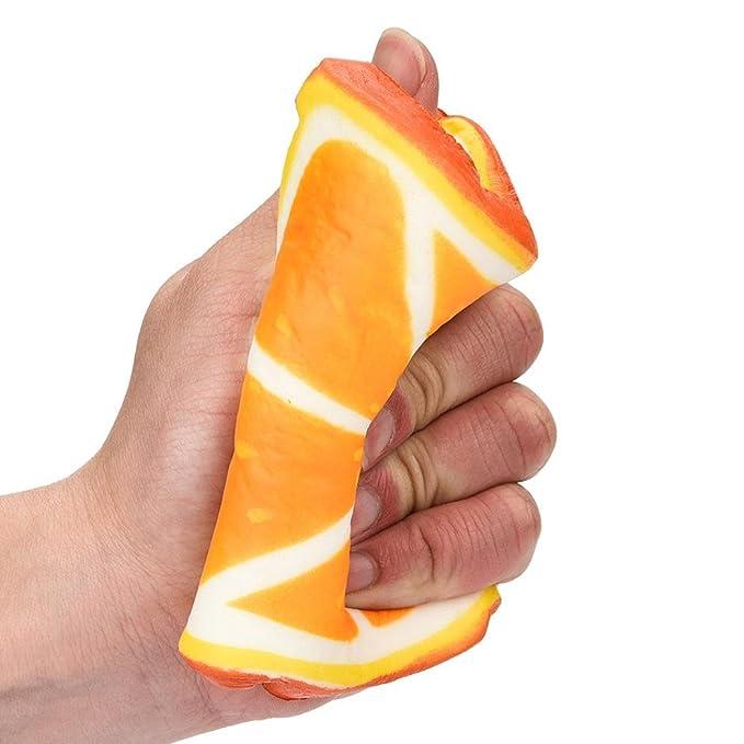 UPXIANG Squishy Jumbo Fruits - Peluche para aliviar el estrés para adultos, Lemon, 14x11x1.3cm: Amazon.es: Deportes y aire libre