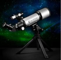 BARSKA Starwatcher 400x70mm Refractor Telescope w/ Tabletop Tripod & Carry Case Barska