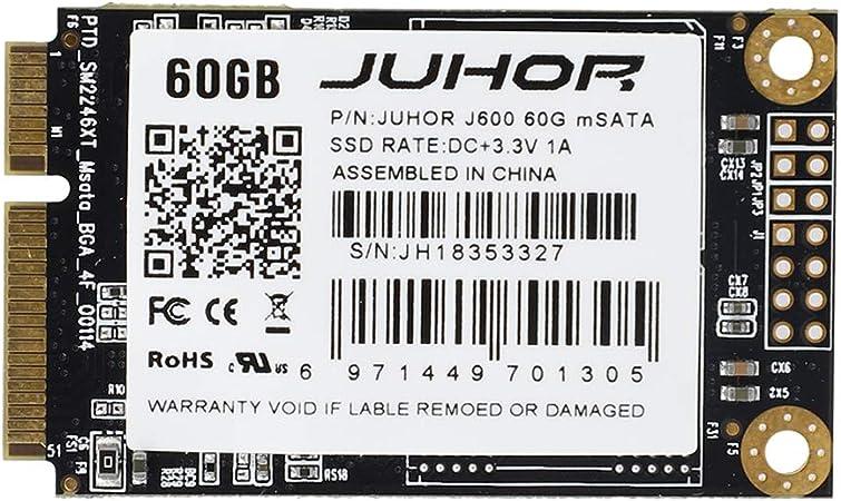 YoZhanhua MSATA SSD - Disco duro interno de estado sólido para ...