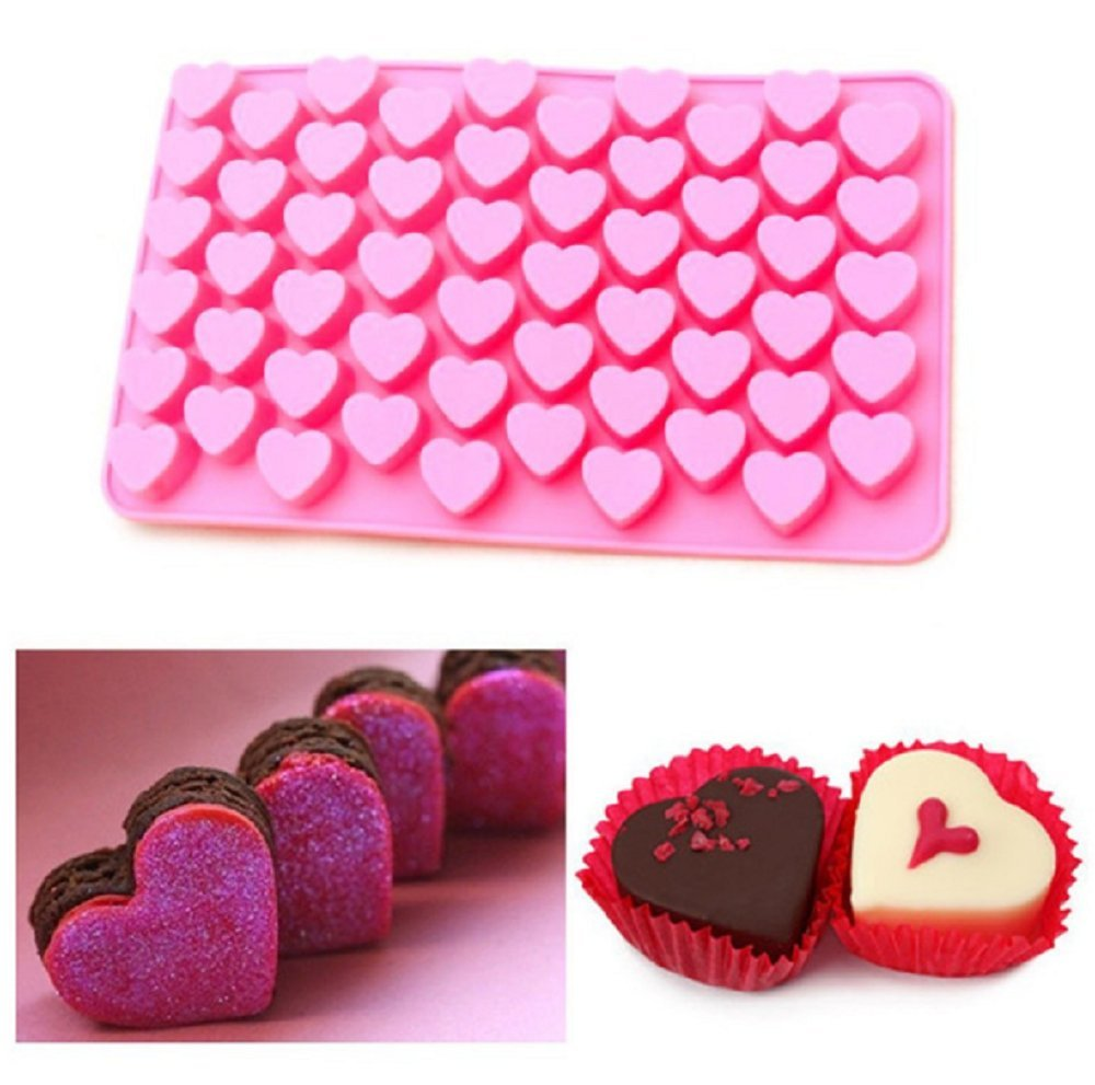 High Quality Heart Shape Silicone Cake Mould, Cake Decoration, Chocolate Baking Mould Shujon