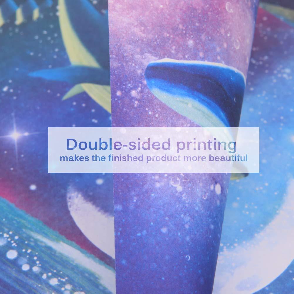 15 x 15 cm 165 feuilles de papier origami carr/é double face 6 couleurs 6 couleurs ciel /étoil/é 12 constellations papier pliant pour projets dart et dartisanat