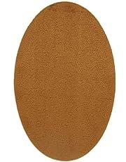 2 rodilleras de Ante color Teja termoadhesivas para planchar. Coderas para proteger tu ropa y reparación de pantalones, chaquetas, jerseys, camisas. 16 x 10 cm. Ref. 95 Teja