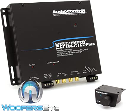 AudioControl THE EPICENTER BLACK Bass Restoration Processor