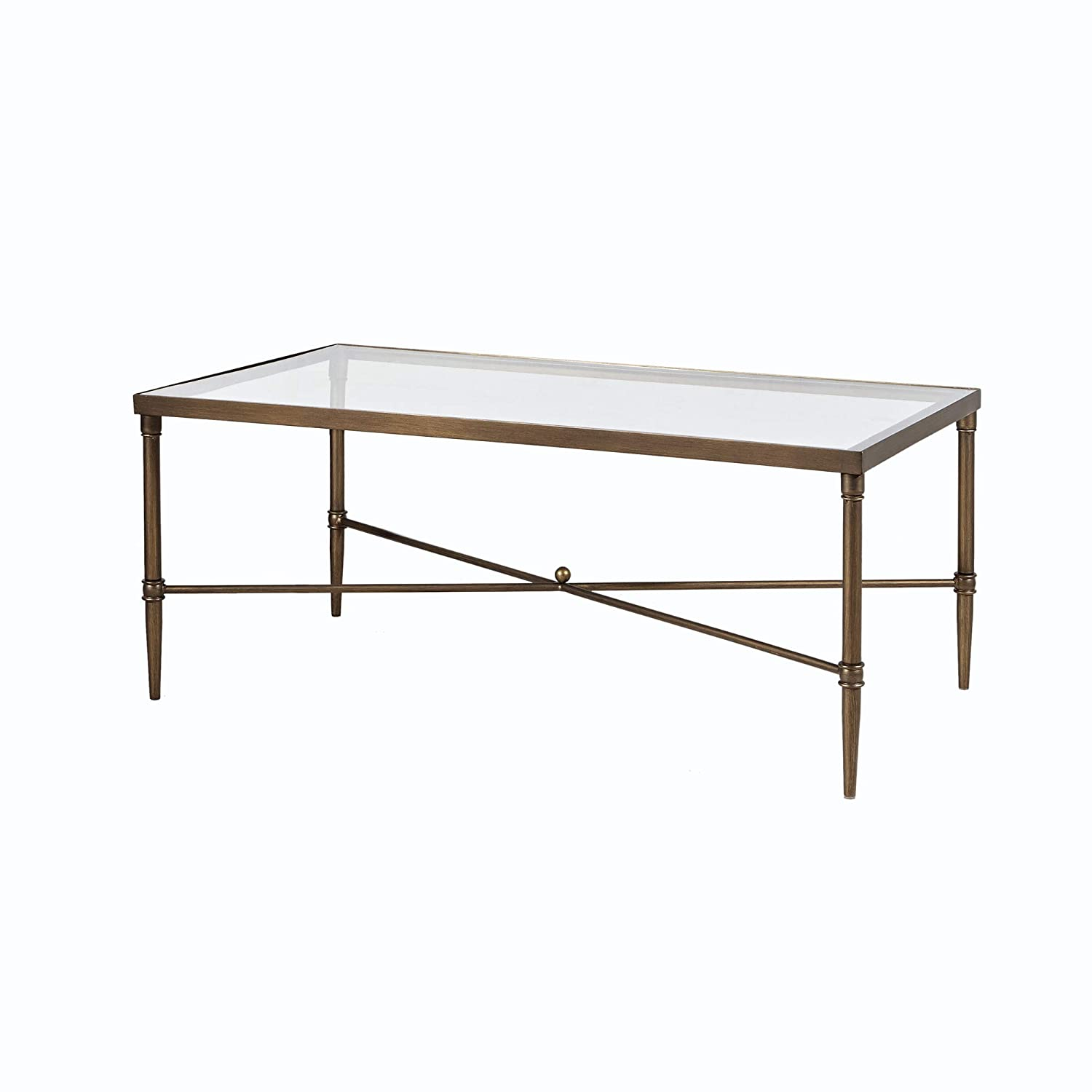 Genial MADISON PARK SIGNATURE MPS120 0050 Porter Accent Tables Rectangular  Tempered Glass Tabletop With Metal Frame Mid Century Modern Luxe Interior  Design Living ...