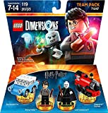 Harry Potter Team Pack + Fantastic Beasts Tina Goldstein + The Wizard Of Oz + Ninjago Nya Fun Packs - Lego Dimensions (Non Machine Specific)