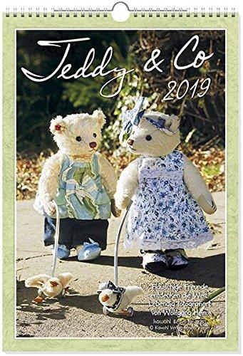 Teddy & Co 2019: Flauschige Freunde und kuschelige Kameraden entdecken die Welt.