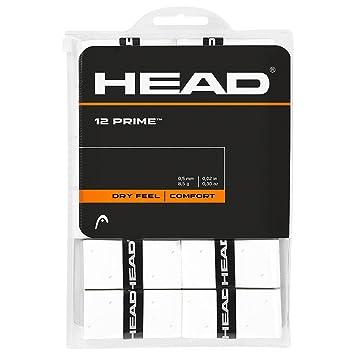 Head Over Grip Prime de 12 Unidades, Color Blanco, One Size, 285485: Amazon.es: Deportes y aire libre