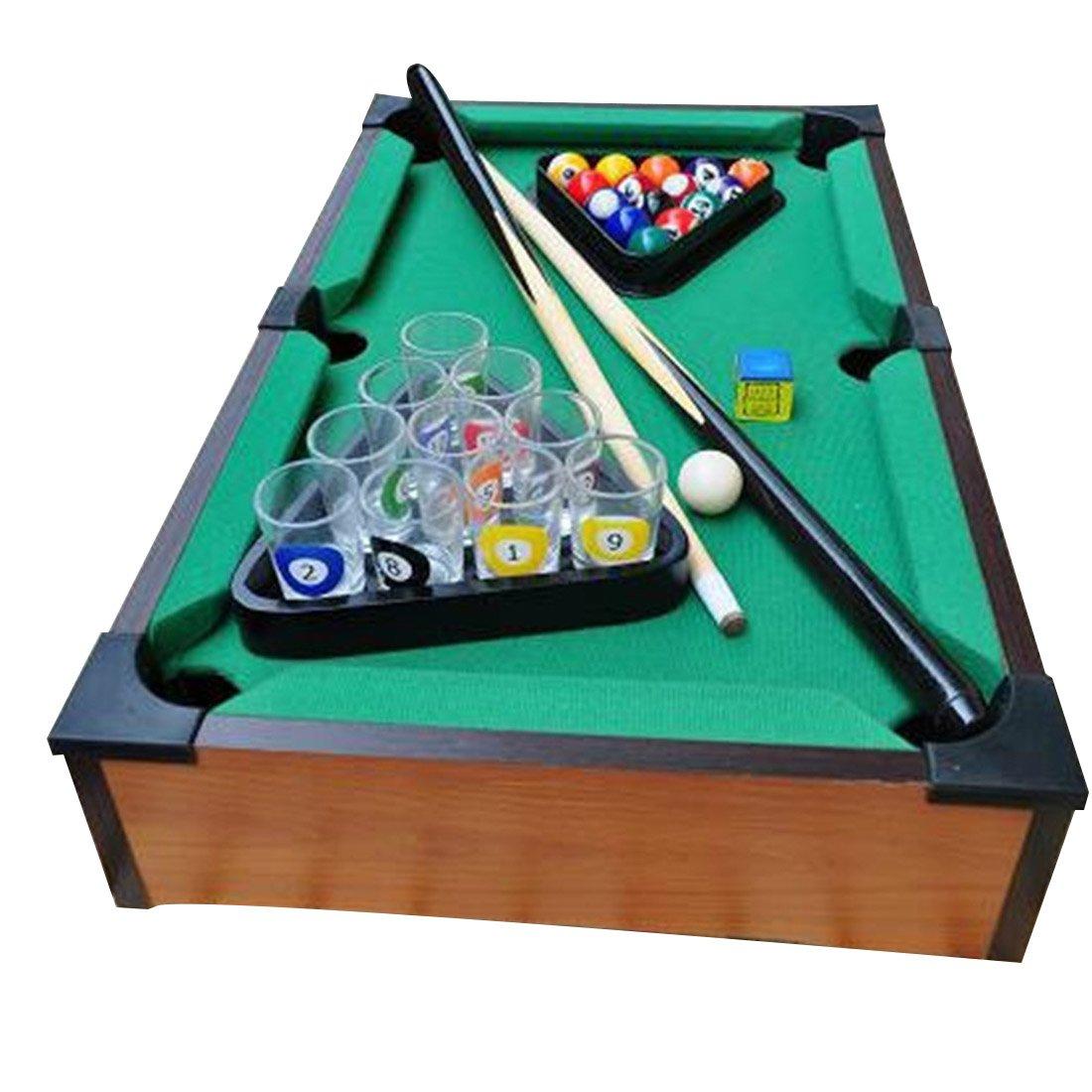 European and American popular pool bar drinking fun toy Doujiu party mini billiards game props Wine