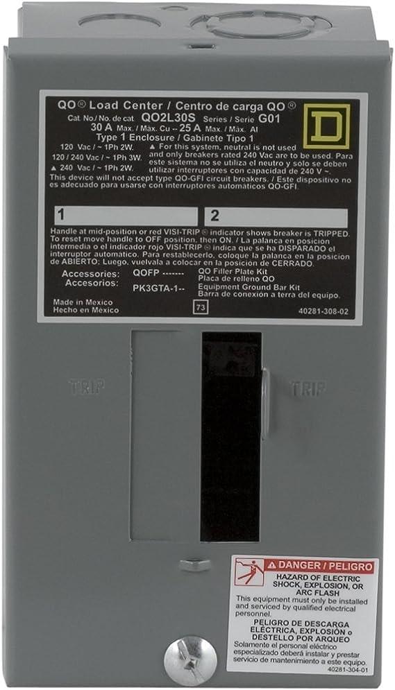 30 Amp Wiring Diagram For Electric Breaker