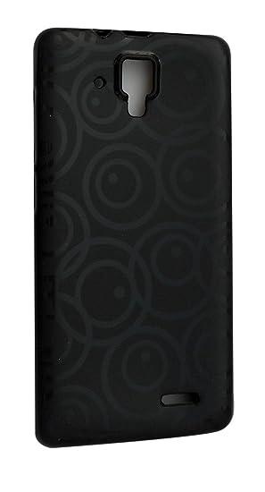 quality design 53bbb 2ef8e S World Rubber Back Cover For Lenovo A536 - Black: Amazon.in ...