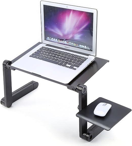 Yosoo Plegable Altura Regulable Laptop Mesa Bandeja Ordenador Mesa ...