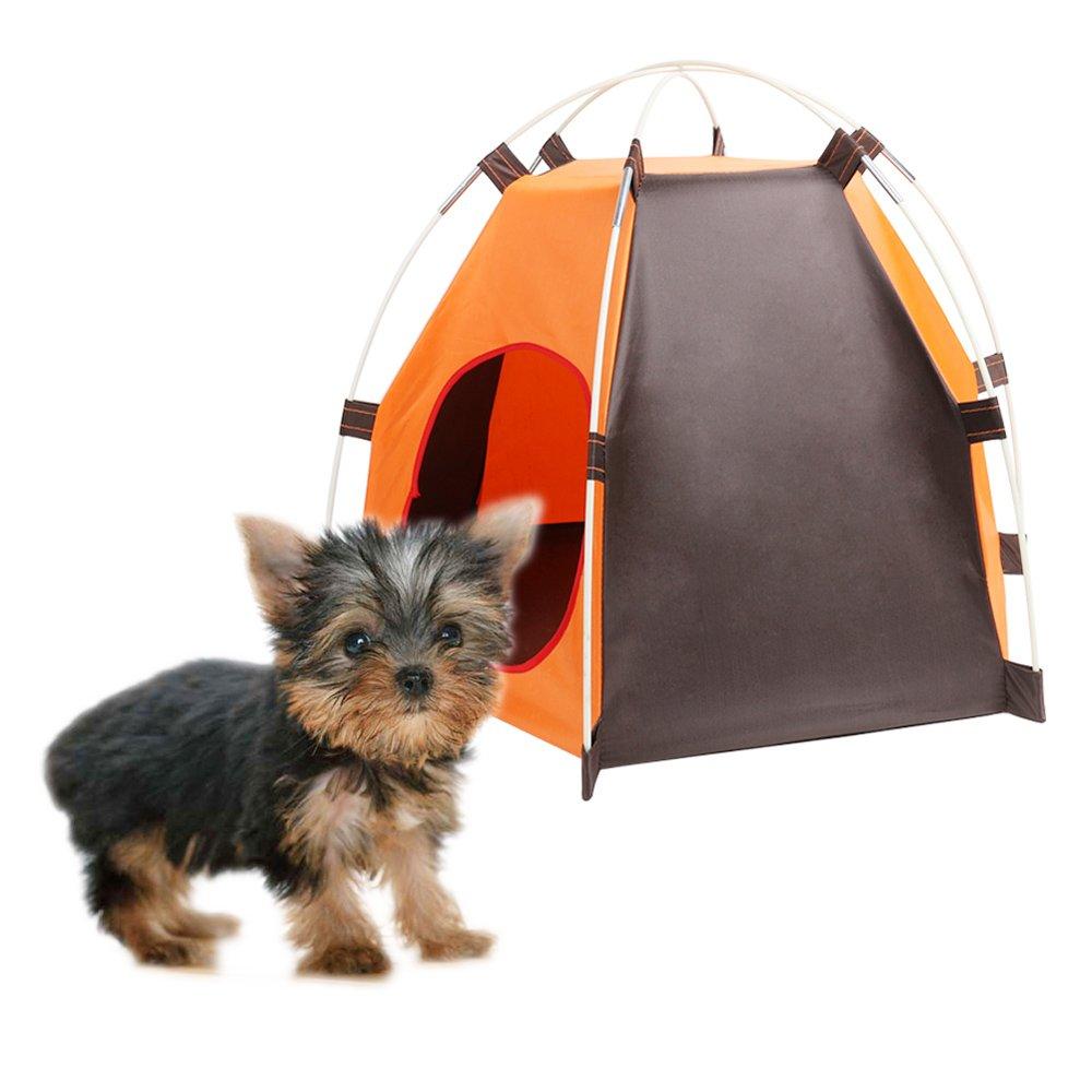 ... al agua duradero perros gatos cama casa resistente al agua para verano interior al aire libre Viajes Camping: Amazon.es: Productos para mascotas