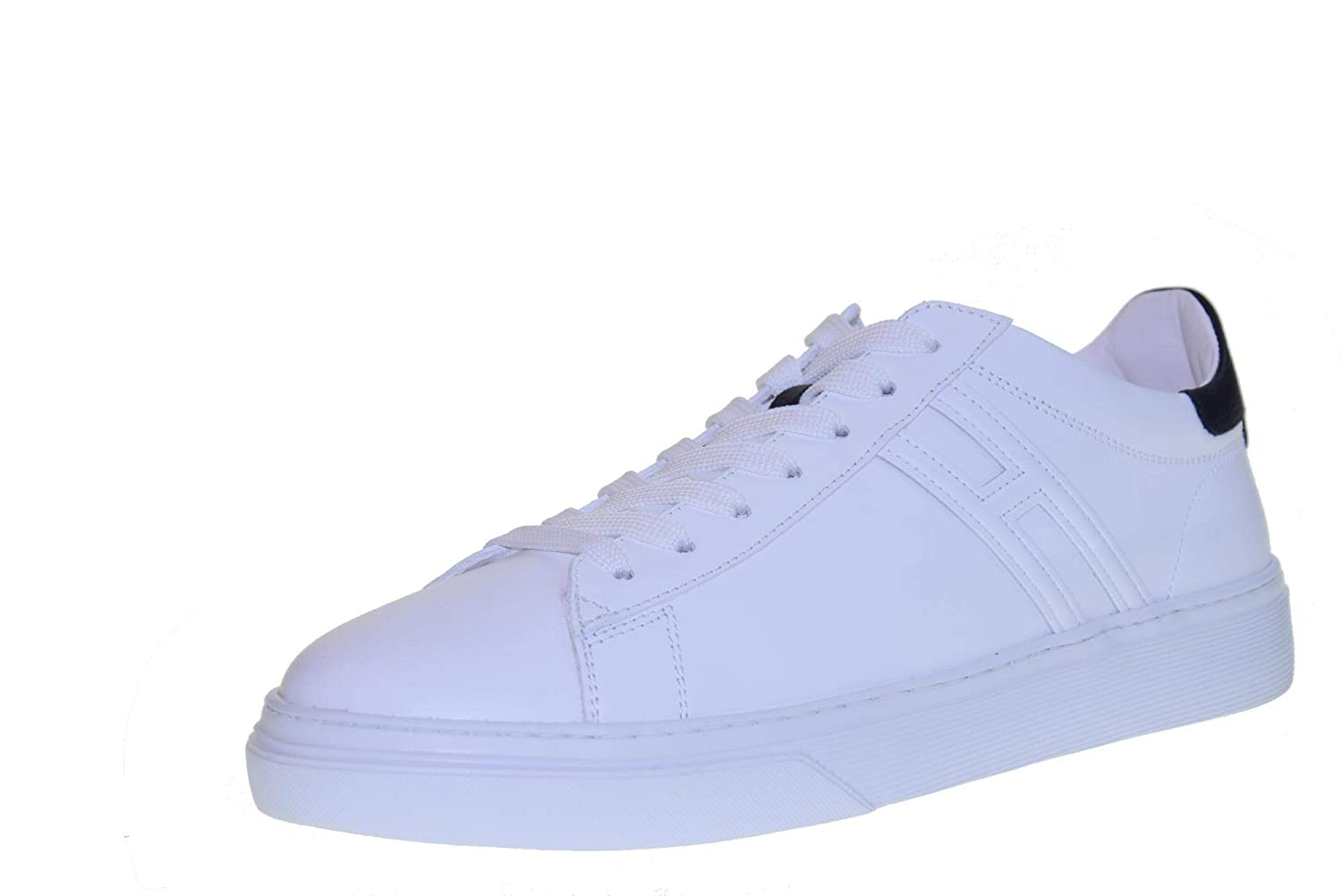 - HOGAN shoes men sneakers low HXM3650J960KFN0001 H365 ALL.BASSO H CANALETTO LONG size 9.5(44) White