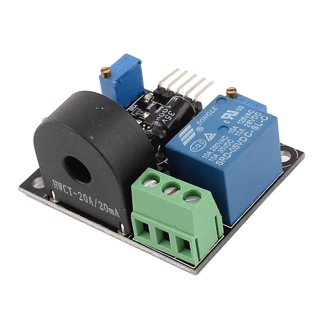Ac Current Detection Sensor Module 0 20a Over Protection Circuit Dc5v Industrial Scientific