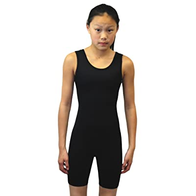 Adoretex Womens Lycra Solid Modified Wrestling Singlet Unitard