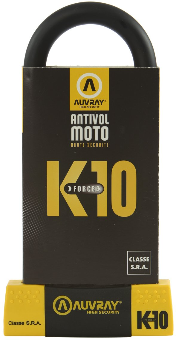 AUVRAY K85250AUV Antivol, Black Yellow, 85X250 K85250MAUV