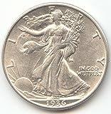 #9: 1936 D Walking Liberty Half Dollar Choice About Uncirculated