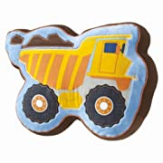 Circo Shaped Construction Truck Throw Pillow Accent Build It Toss Cushion