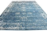 Unique Loom Sofia Collection Blue 8 x 10 Area Rug