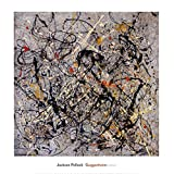 Number 18 1950 Poster Print by Jackson Pollock (28 x 29)