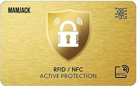 20 x RFID Manchons de Passeport Etuis de Protection RFID RFID Pochette pour Carte Bancaire pour Carte de Cr/édit Carte de D/ébit Carte Bancaire JZK 60 x RFID Protection Carte