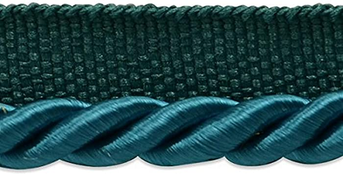 Expo International Emmerson Twisted Lip Cord Trim 20 yd Teal