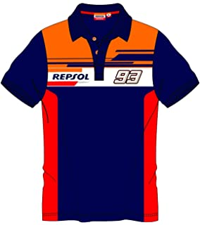 HONDA Repsol Marc Marquez 93 Moto GP Panel Azul Ni/ños Camiseta Oficial 2018