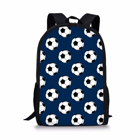 Cool 3D - Mochilas de fútbol para niños 590c530be943f